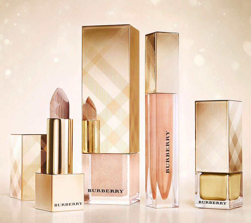 Burberry Golden Light Makeup Collection for Christmas 2013 promo