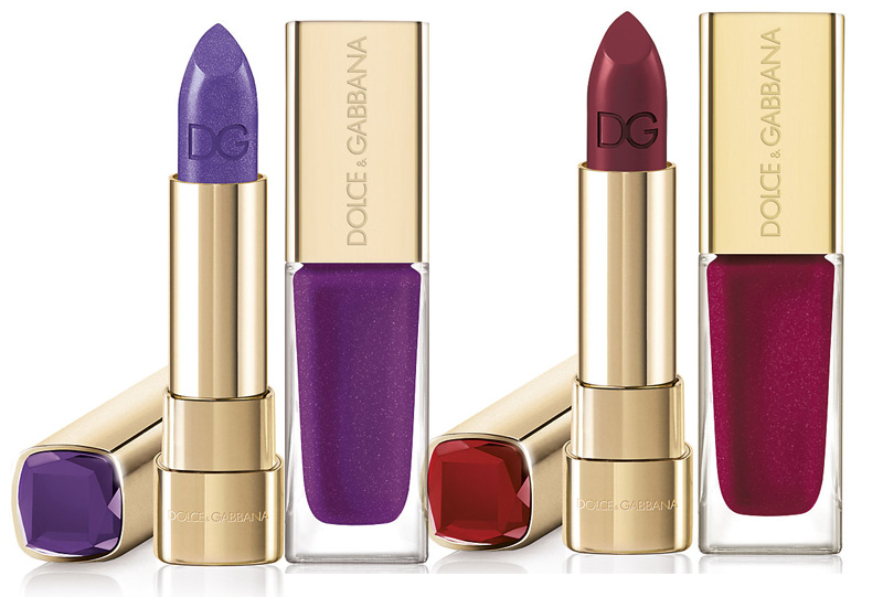 Dolce & Gabbana Sicilian Jewels Makeup Collection for Christmas 2013 Ametista and Rubino
