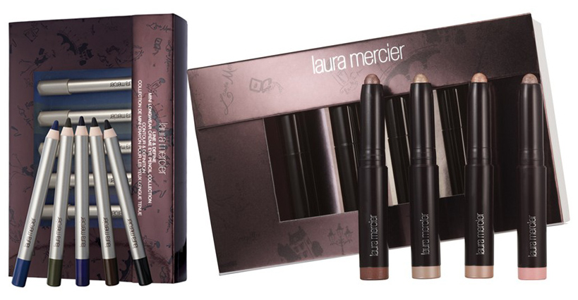 Laura Mercier eye pencils and caviar sticks holiday 2013