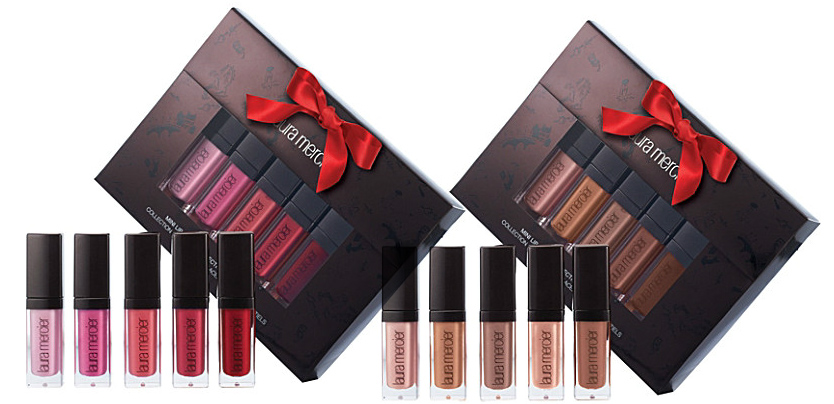 Laura Mercier mini lip glacé collection holiday 2013
