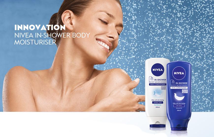 Nivea In-Shower Body Moisturizer for Dry Skin Review