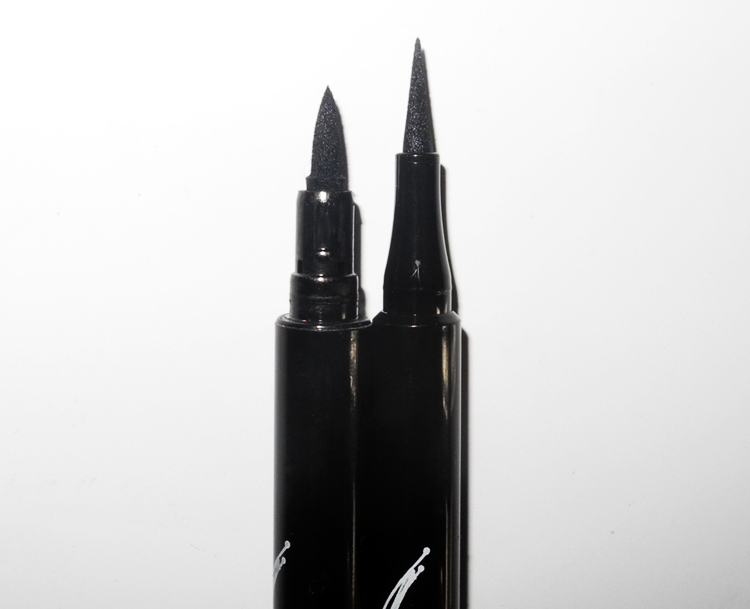 Rouge Satin Eyeliner NOCTURNAL INK   and Raven Glaze