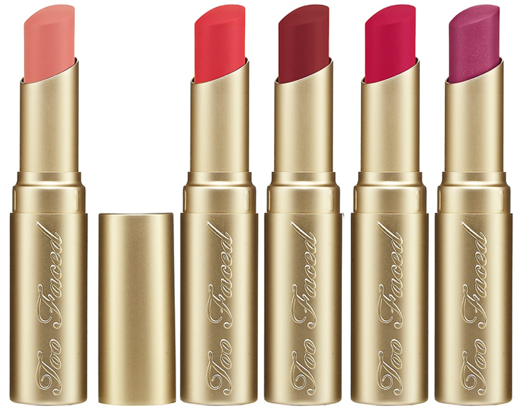 Too Faced La Crème lipstick spring 2014