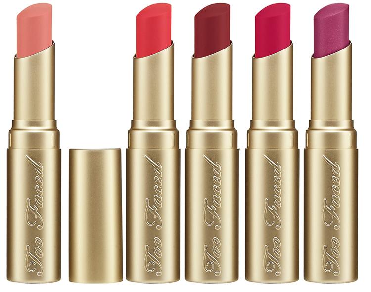 Too Faced La Crème lipstick spring 2014