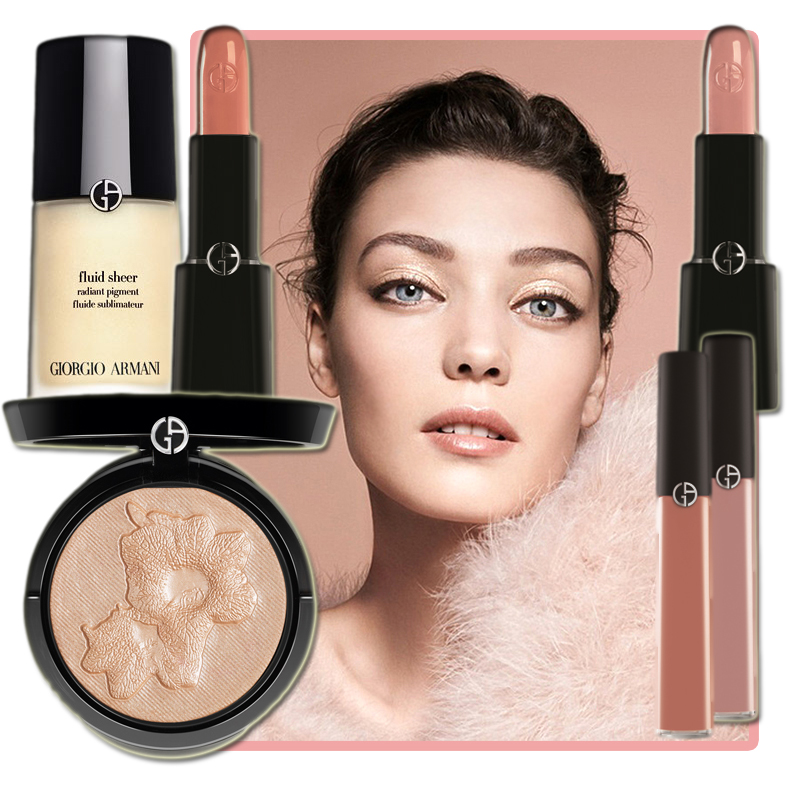 Armani Spring 2014 Makeup Collection nude shades