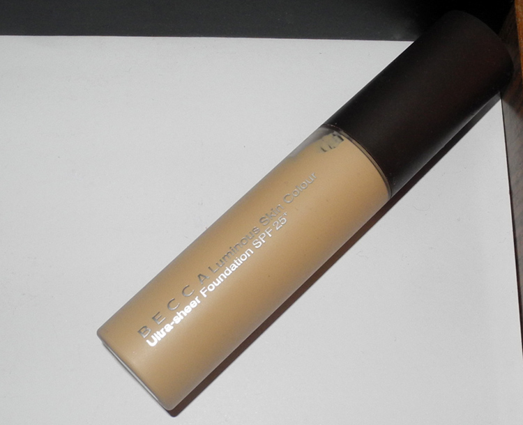BECCA Luminous Skin Colour Ultra-Sheer Foundation Review and Swatches