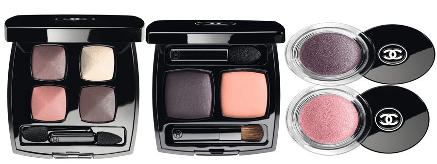 Chanel  Notes De Printemps Makeup Collection for Spring 2014 eyes
