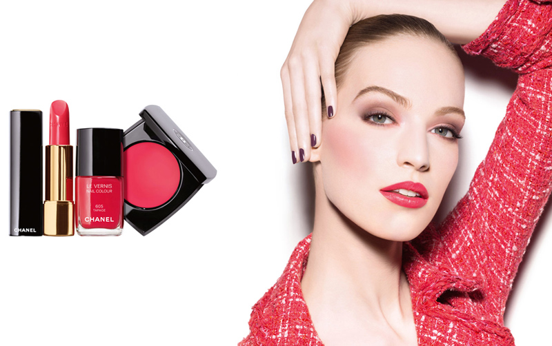 Chanel  Notes De Printemps Makeup Collection for Spring 2014 promo