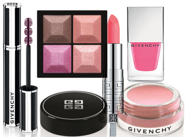 Givenchy Over Rose Makeup Collection for Spring 2014 products