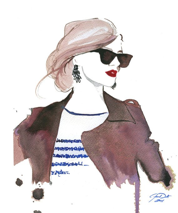 Jessica Durrant Fashion Illustration