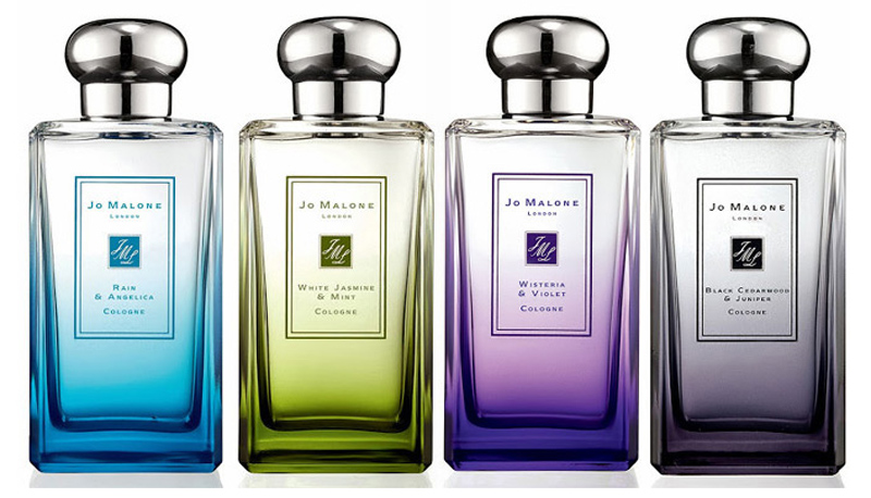 Jo Malone London Rain  Fragrance Collection for Spring 2014 bottles