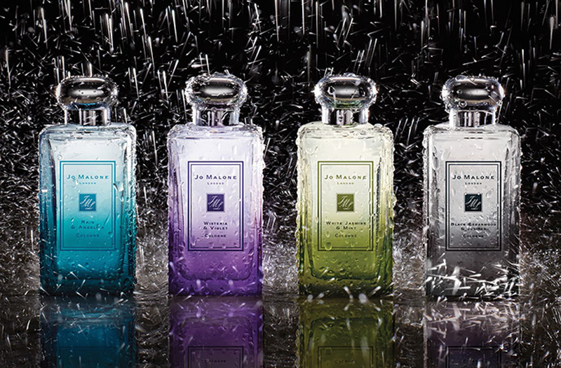 Jo Malone London Rain  Fragrance Collection for Spring 2014 promo