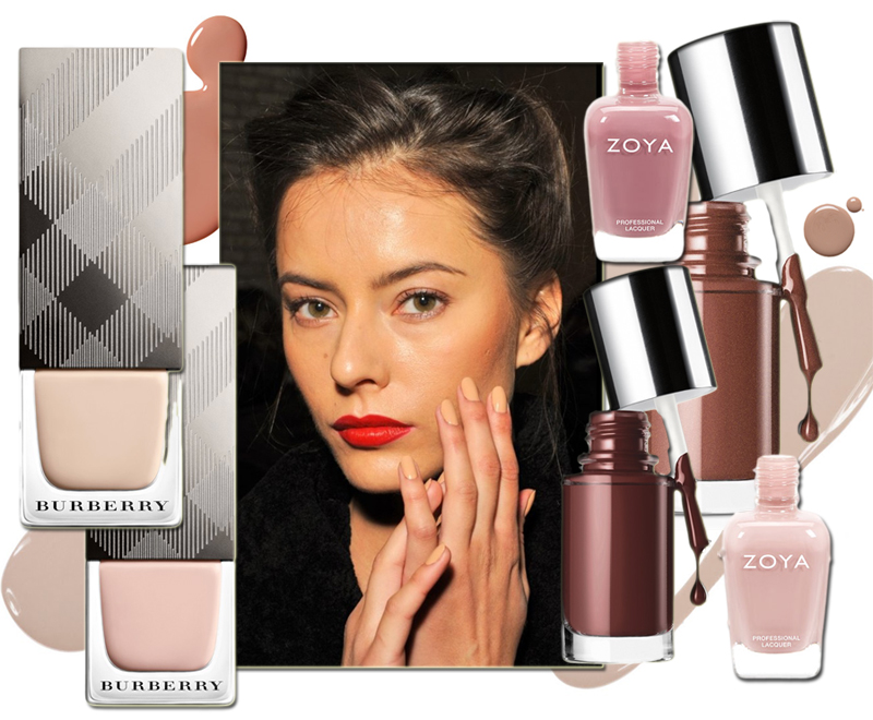 Nude Nail Polish trend Zoya butter london clinique holiday 2013 makeup4all