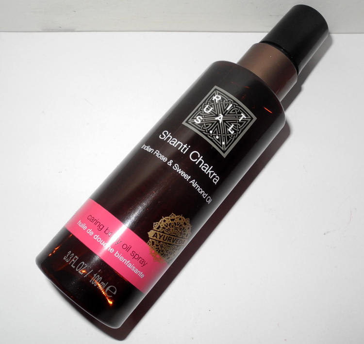 Rituals Shanti Chakra Caring Body Oil Spray Review.