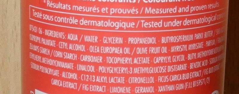 Roger & Gallet Fleur de Figuier Body Lotion Review ingredients