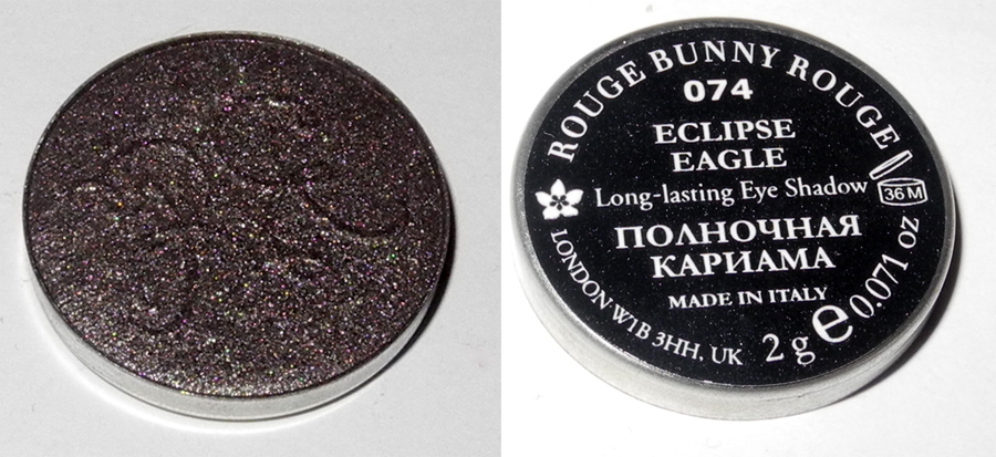 Rouge Bunny Rouge Long-Lasting Eye Shadow in Eclipse Eagle Review and Swatches
