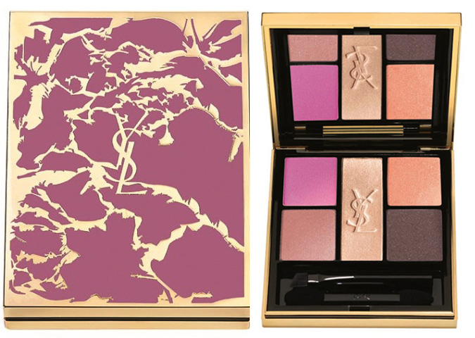 YSL Flower Crush Makeup Collection for Spring 2014 Pivoine Crush Palette