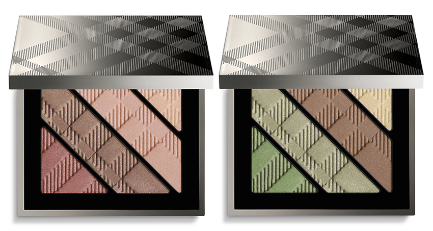 Burberry English Rose Makeup Collection for Spring 2014 complete eye palettes