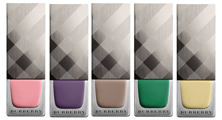 Burberry English Rose Makeup Collection for Spring 2014 nail polish