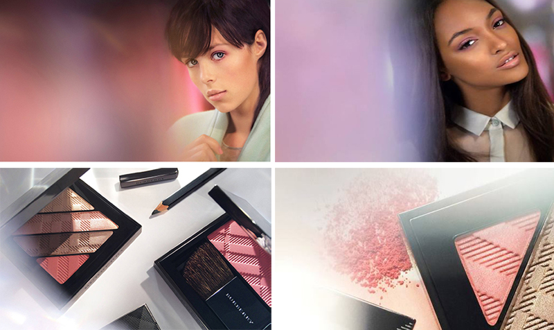 Burberry English Rose Makeup Collection for Spring 2014 promo