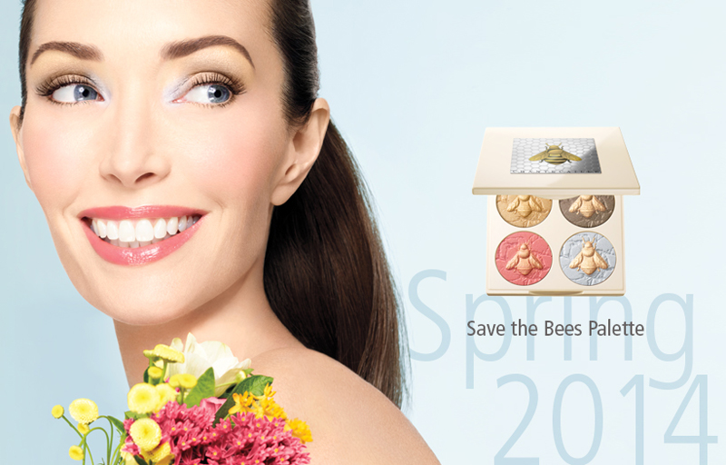 Chanetecaille Save the bees makeup collection fo Spring 2014