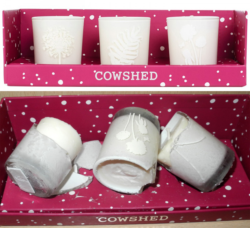 Cowshed Mixed Travel Candle Gift Set review