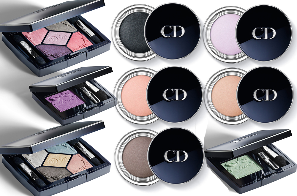 Dior Trianon Makeup Collection for Spring 2014 eyes