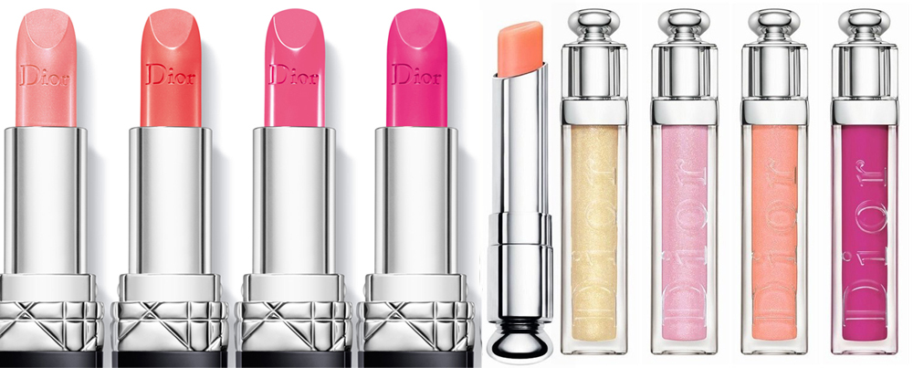 Dior Trianon Makeup Collection for Spring 2014 lips1