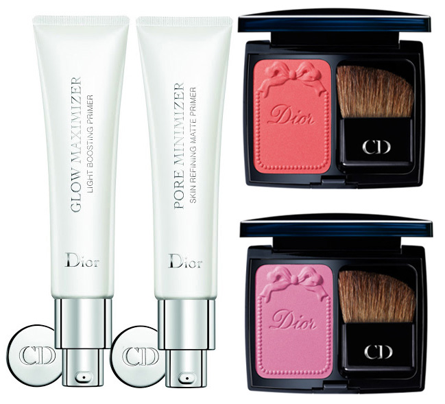 Dior Trianon Makeup Collection for Spring 2014 primers and blushes