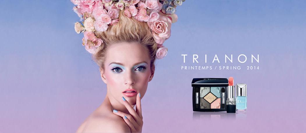 Dior Trianon Makeup Collection for Spring 2014 promo