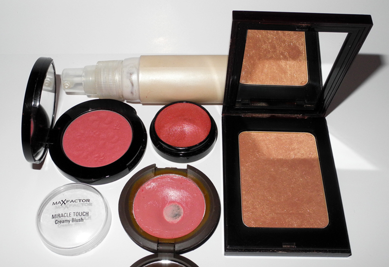 Favourite Beauty Products of 2013 Makeup BECCA, Rouge Bunny Rouge, Max Factor, YSL