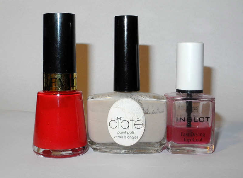 Favourite Beauty Products of 2013 Makeup nail polishes makeup4all