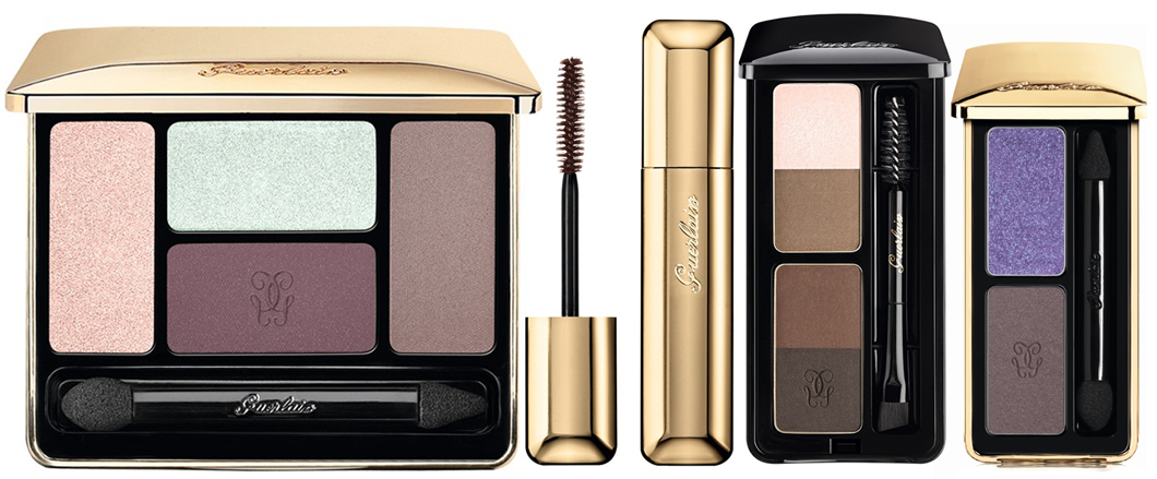 Guerlain Meteorites Blossom Makeup Collection for Spring 2014 eye products