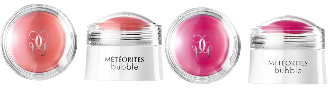 Guerlain Meteorites Bubble Pink and Cherry Spriung 2014