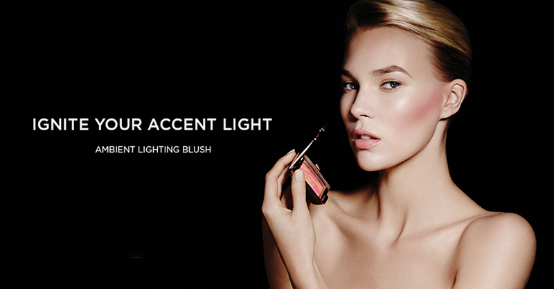 Hourglass Ambient Lighting Blush for Spring 2014 promo