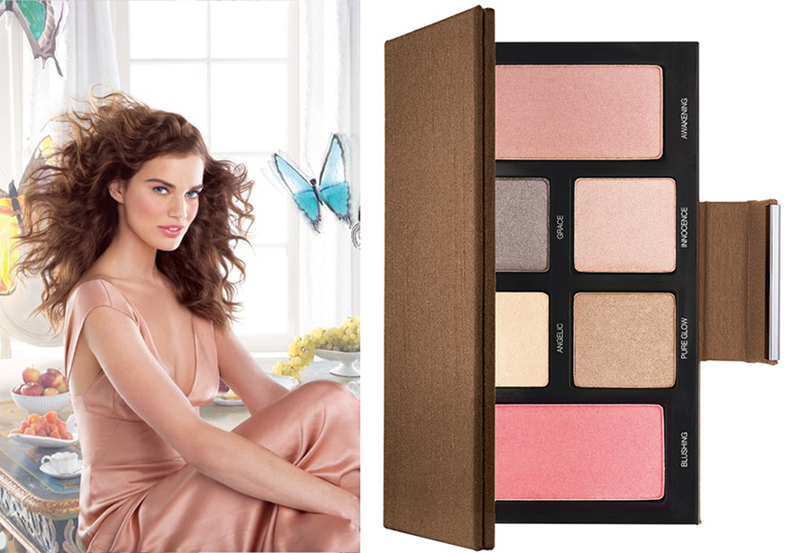 Laura Mercier Spring Renaissance Makeup Collection for Spring 2014 promo and palette