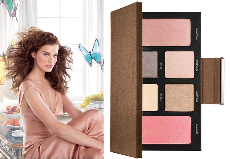 Laura Mercier Spring Renaissance Makeup Collection for Spring 2014 promo and palette