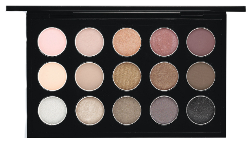 MAC Cool Neutral eye shadow palette promo