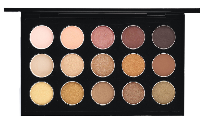 MAC Warm NeutralEye Shadow Palette promo