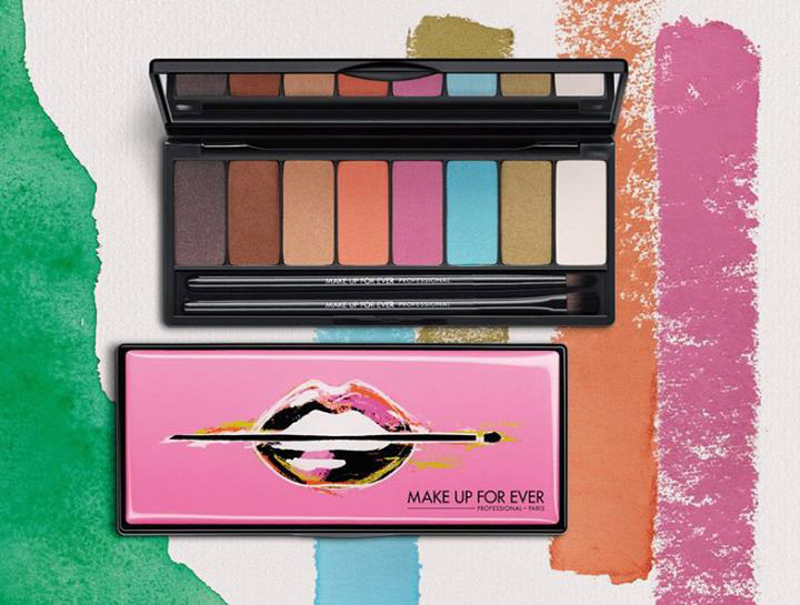 Make Up For Ever Arty Blossom Makeup Collection for Spring 2014 palette