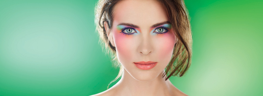 Make Up For Ever Arty Blossom Makeup Collection for Spring 2014 promo