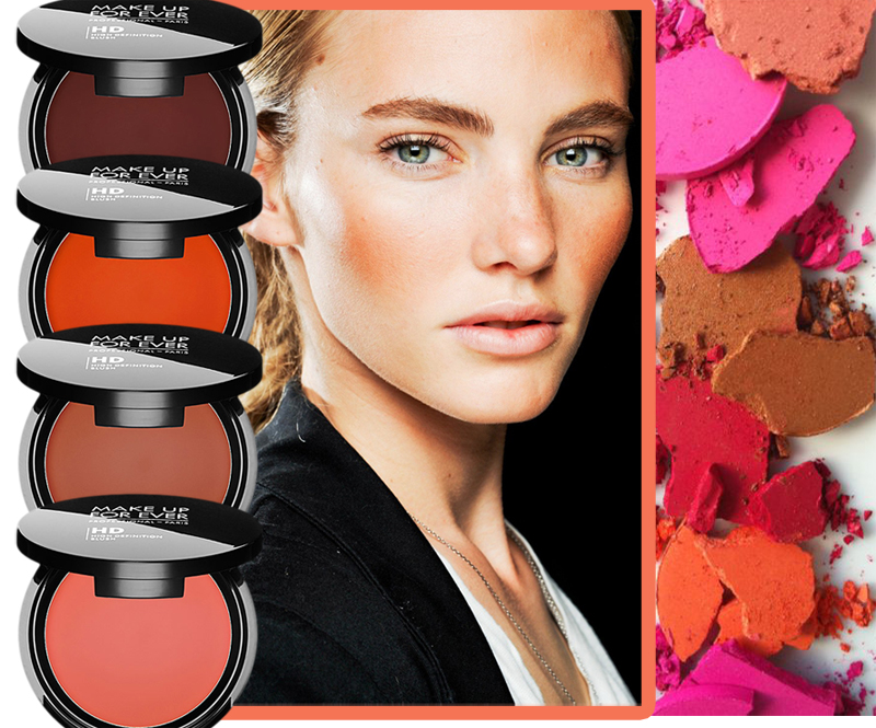 Make Up For Ever HD Blushes shades spring 2014