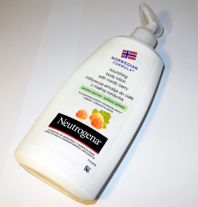 Neutrogena Norwegian Formula Nourishing Body Lotion With Nordic Berry