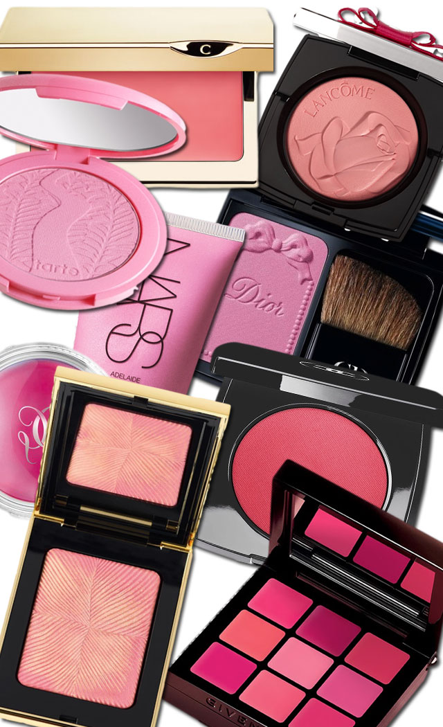 Spring-2014-pink-blushes-and-face-products