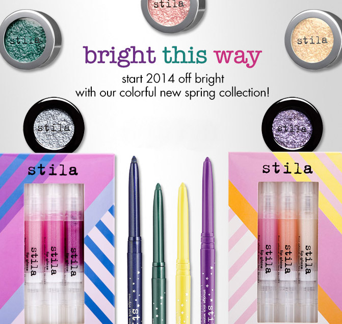 Stila  Bright This Way Makeup Collection for Spring 2014