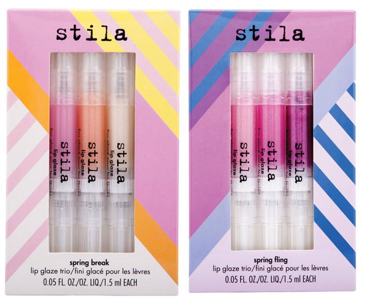 Stila Makeup Collection for Spring 2014 lip glaze trio