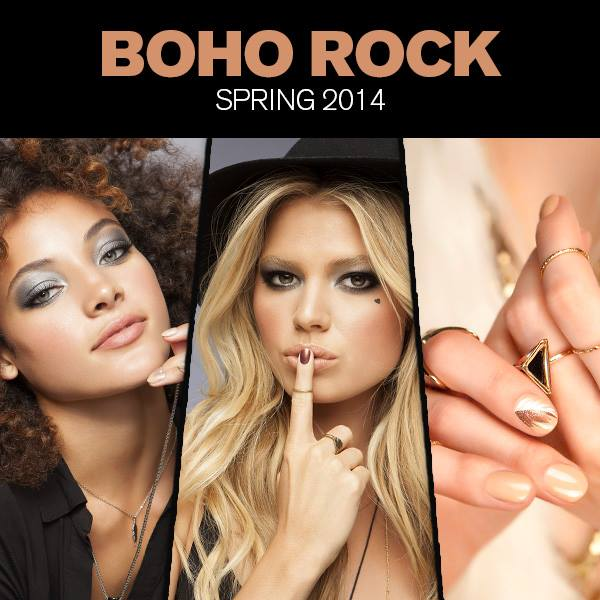 butter LONDON Boho Rock nail polish and makeup collection for Spring 2014