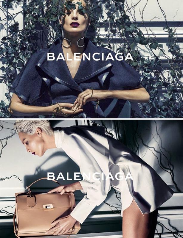 Balenciaga SS14 Daria Werbowy by Steven Klein 1
