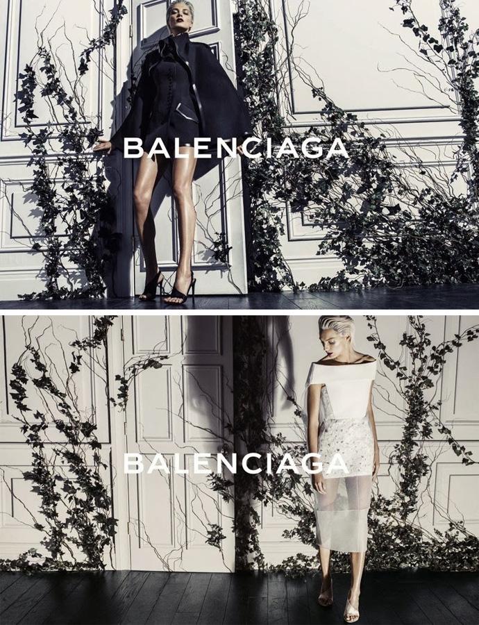 Balenciaga SS14 Daria Werbowy by Steven Klein