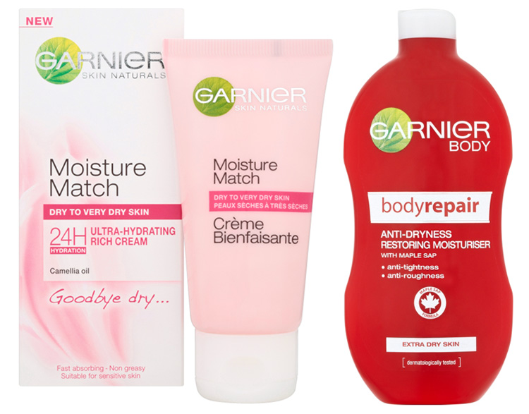 Best Affordable Face and Body Cream for Dry and Very Dry Skin garnier